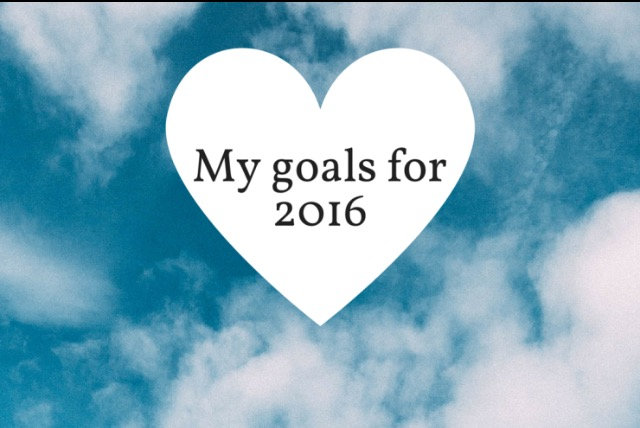 Motivation Station! My Goals for 2016