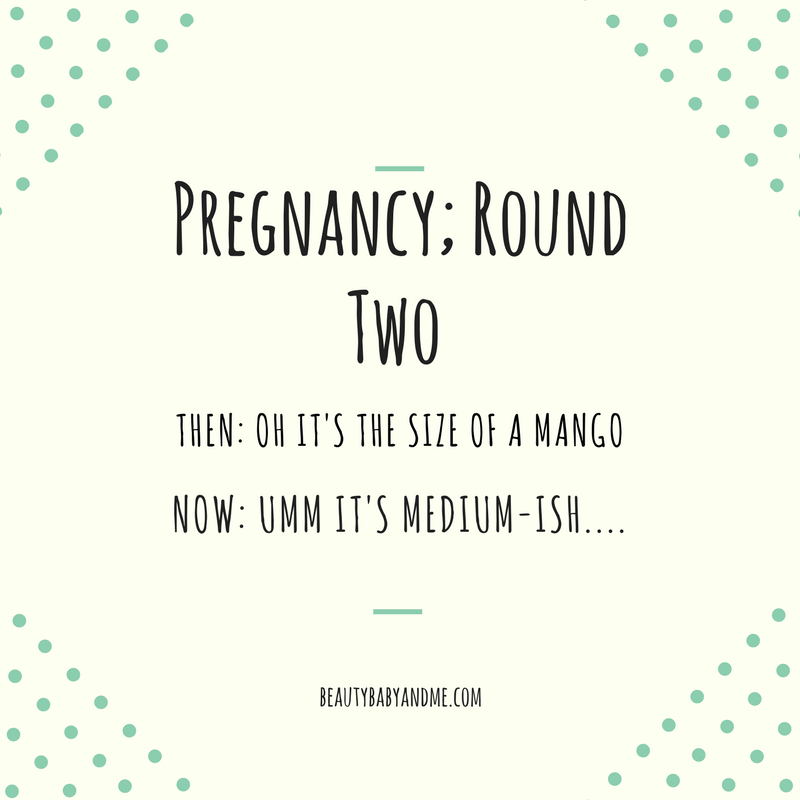 Pregnancy – Round Two!