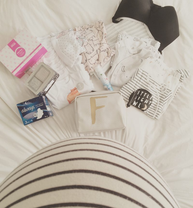 What's in my Hospital Bag So Far (The Second Time Around)!